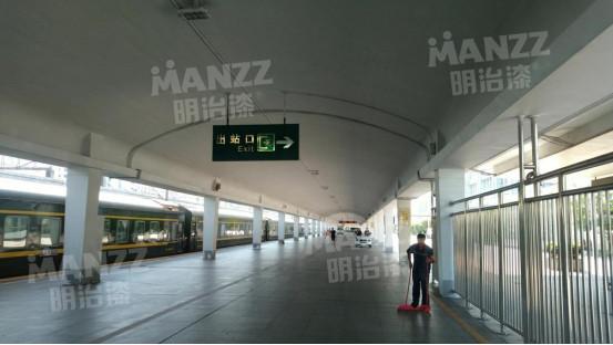 【明治漆市政工程案例】广州火车站